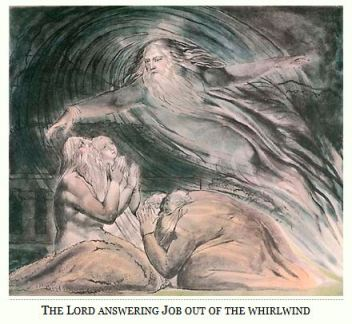 God Appears to Job in the Whirlwind