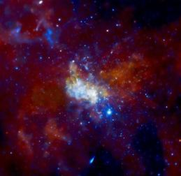Supermassive Black Hole Sagittarius A credit: NASA